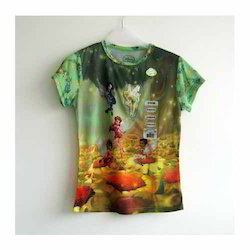 Fashion Sublimation Print T Shirt