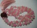 Gemstone Beaded Mala Necklace