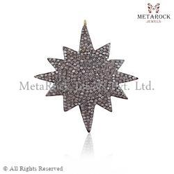 Starbrust Diamond Pendant