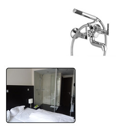 Shower Wall Mixer Bath for Hotels
