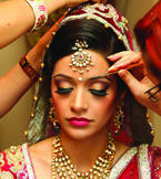 The Classic Bride make Up
