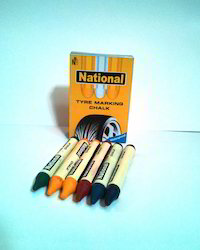 Assorted National Tyre Marking Chalk