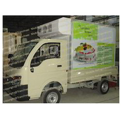 Pastry And Cakes Refrigerated Truck