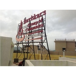 Structure Sign Board with LED