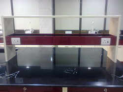 Laboratory Centre Table Reagent Rack