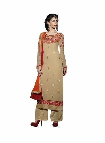 619d16602c8 Designer Embroidered Suits - Exclusive Embroidered Designer Suit ...