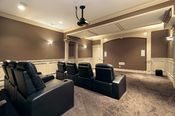 Home Theater Leather Recliner