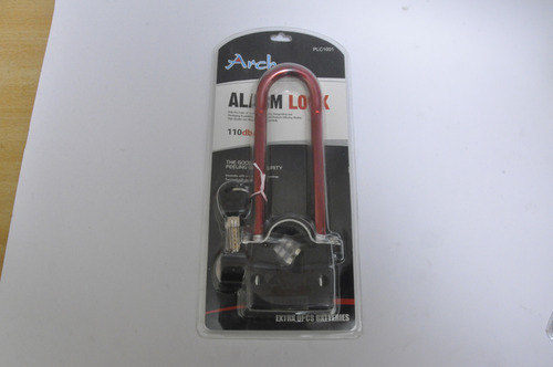 Arch Bike Wheel Alarm Lock