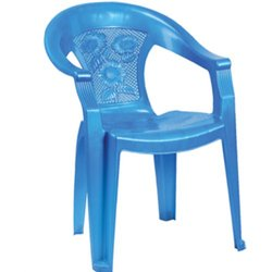 Plastic Medium Back Chair with Arm