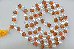Rudaraksh Mala (Crystal)
