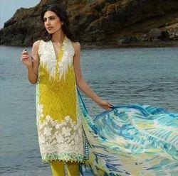 Pakistani Style Designer Embroidered Suit
