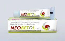 Betamethasone Neomycin Tolnaftate Cream