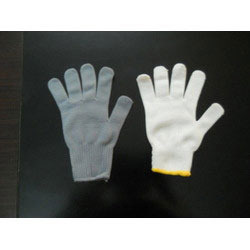 Polyester Knitted Hand Gloves