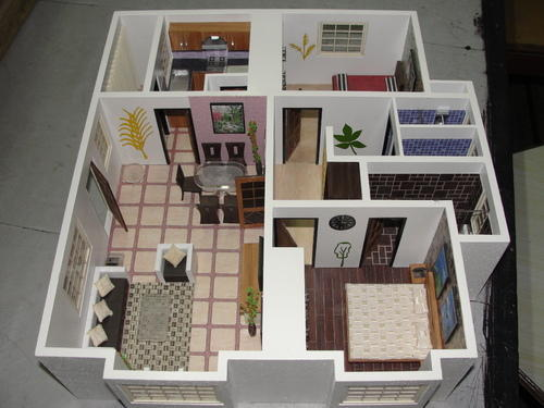 2 Bhk Flat Interior Model In New Delhi Tughlakabad By 3d Model