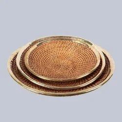 Wicker Oval Fruit Basket