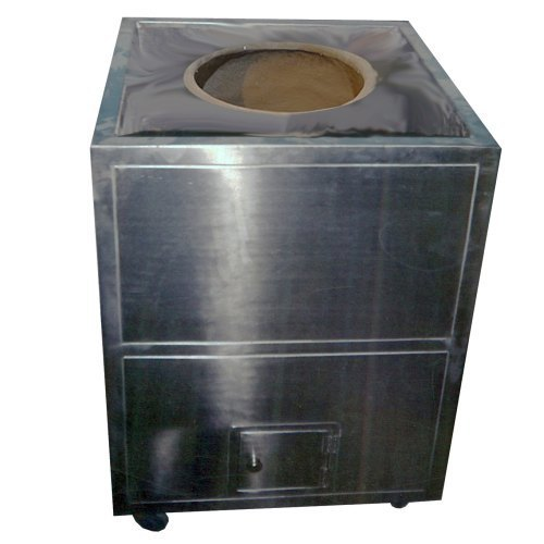 Stainless Steel Mobile Square Tandoor - Classic Kitchen