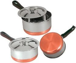 Sauce Pan With Copper Bottom