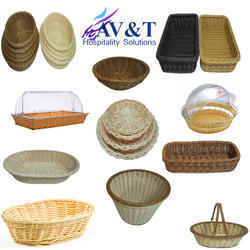 Poly Rattan Buffet Bread Basket