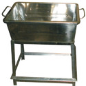 Stainless Steel Litter Bin