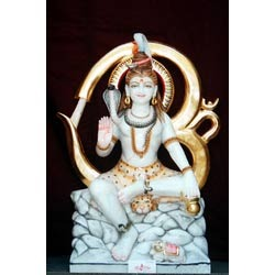 Marble Sculpture Of Shiva