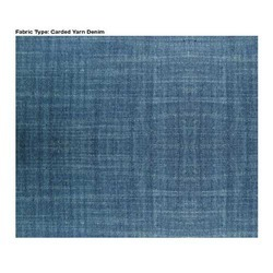 Carded Yarn Denim Fabric