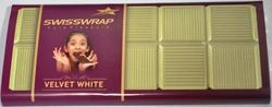 swisswrap Rectangular Velvet White Chocolate Bar