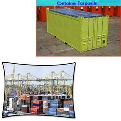 Tarpaulin Container Cover for Fertilizer Plants