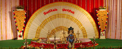 Stage Decorations Wedding Stage Service Provider From Trichur