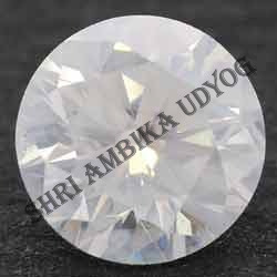 Milky White Diamond Cut