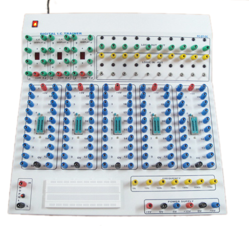 Ic Trainer Digital Ic Trainer Manufacturer From Bengaluru