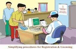 Registration with Statutory authorities
