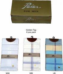 Men's Woven Handkerchief