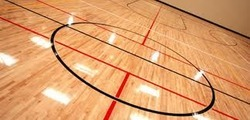 Basket Ball Court Wooden Flooring