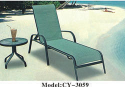 Aluminium Fabric Lounger
