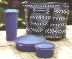 Tupperware Lunch Bag Set