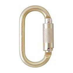 Quarter Turn Steel Carabiner Hook