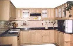 C Shape Modular Kitchen