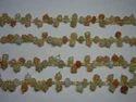 Multi Moonstone Wire Wrapped Gemstone Dangle Chain