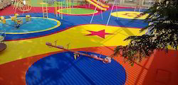 Rubber Flooring for Playground Equipment