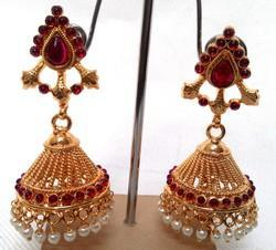 Designer Gold Plated Jhumka