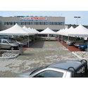 Steel Modular Airone Classic Tensile Structure For Car Parking