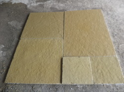 Tumbled Yellow Lime Stone