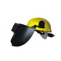 Helmet with Welding Shield