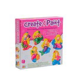 Create & Paint Glitter Mermaid