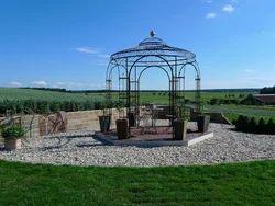 Wrought Iron Pavilions