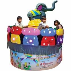 Elephant Circus Fun Amusement Ride