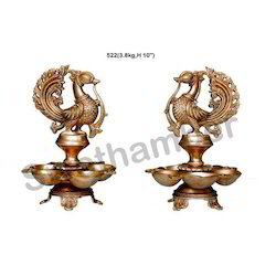 Traditional Brass Oil Lamps