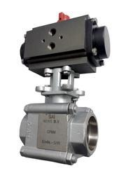 Socket Weld End Actuator Ball Valve