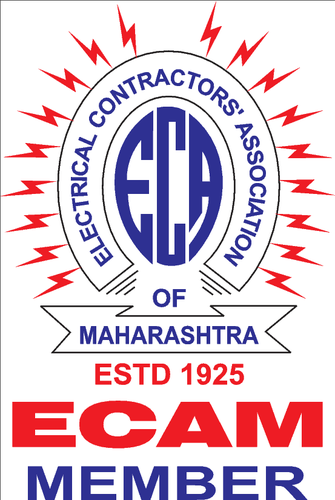 we are also having the membership of electrical contractors association of maharashtra ecam member