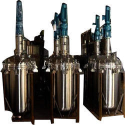 Stainless Steel Jacket Type Reaction Vessels, Capacity: 1000-10000l